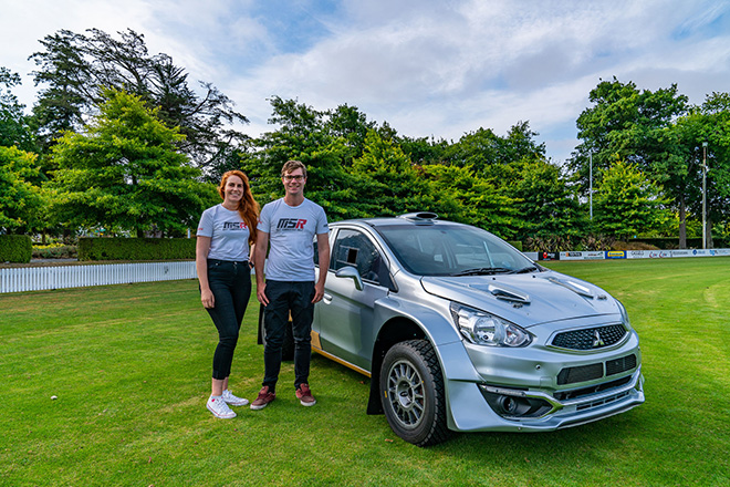 New Mirage AP4 rally car for Summerfield