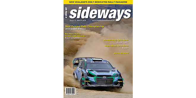 Sideways Magazine Edition #13 is out now