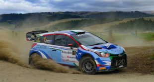 Paddon appearance a treat for rally spectators
