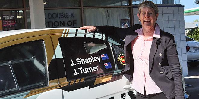 Rally BOP - Whakatane Mayor takes a Rally Ride