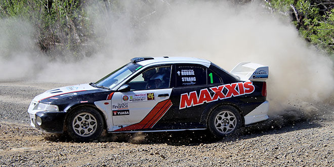Strang wins second successive Rankleburn Rally
