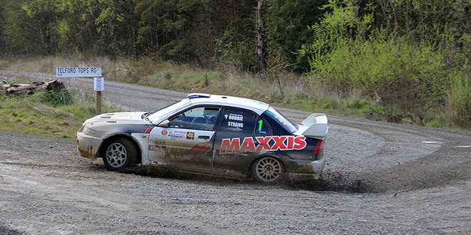 Carter Strang top seed for Rankleburn Rally