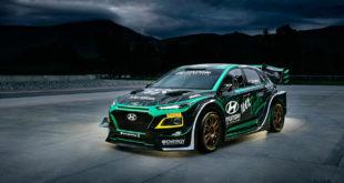 PRG and Hayden Paddon reveals spectacular Hyundai EV rally car