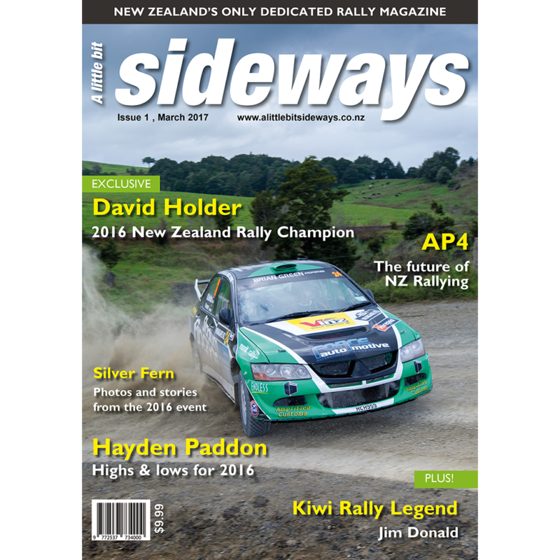 Edition #1 of A Little Bit Sideways Magazine