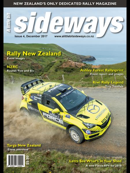 Edition #4 of A Little Bit Sideways Magazine