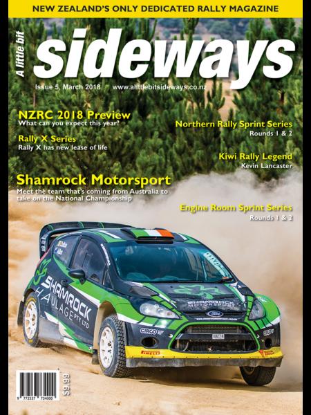 Edition #5 of A Little Bit Sideways Magazine