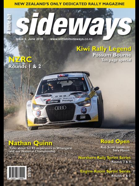Edition #6 of A Little Bit Sideways Magazine