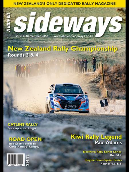 Edition #7 of A Little Bit Sideways Magazine