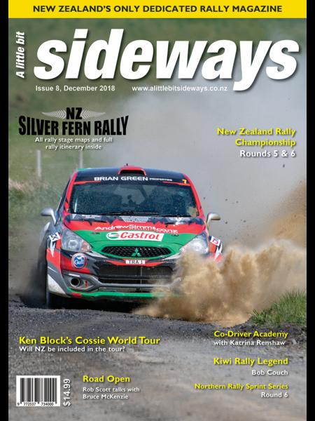 Edition #8 of A Little Bit Sideways Magazine