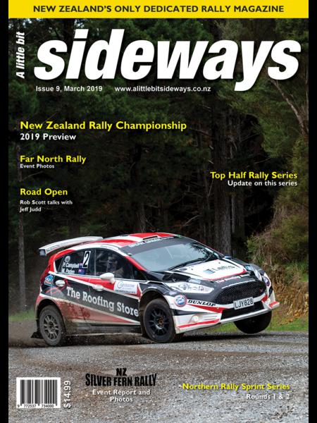 Edition #9 of A Little Bit Sideways Magazine
