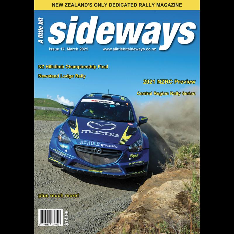 Edition #17 of A Little Bit Sideways Magazine