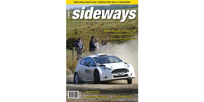 Latest edition of A Little Bit Sideways Rally Magazine