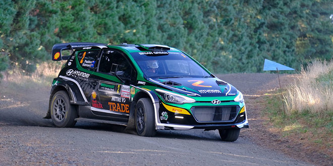 Paddon looks to hold off chasing bunch at Whangarei