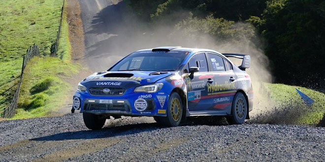 Hunt secures second in the NZRC, continuing Subaru's proud rally history